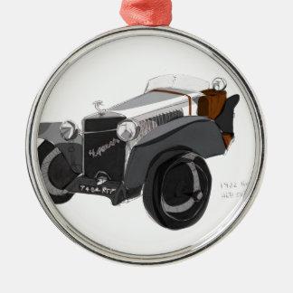 Hispano Suiza Nahaufnahme Silbernes Ornament