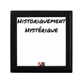 HISTORISCH HYSTERISCH - Wortspiele Geschenkbox
