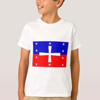 Historische Domincan Republik-Flagge (1844) T-Shirt