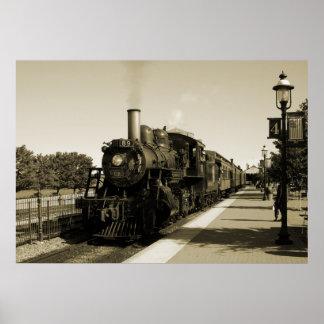 Historische Eisenbahn Poster