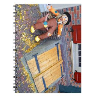 Historische Elfreth Gasse - Halloween Notizblock
