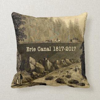 Historische Erie-Kanal-zweihundertjährige Jahre Kissen