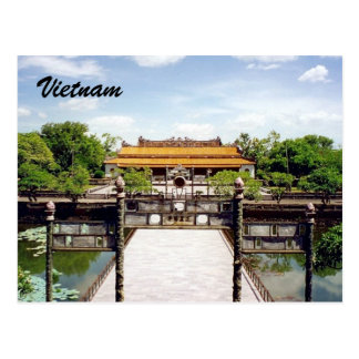 historische Farbe Postkarte