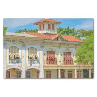 Historische Gebäude, Parque Historico, Guayaquil Seidenpapier