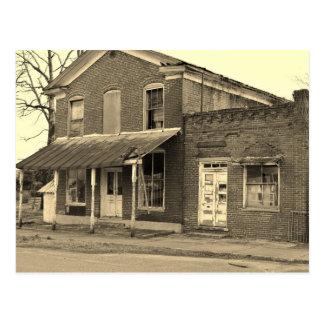 Historische Gebäude-Schwarzweiss-Postkarte Postkarte