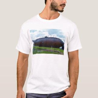 Historische hölzerne Unterwasserreplik T-Shirt