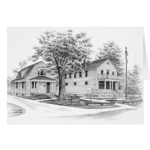 Historische Jaite Mühle in Ohio (CVNP) durch Kelli Karte