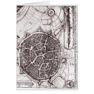 Historische Karte von Nordlingen, Deutschland im