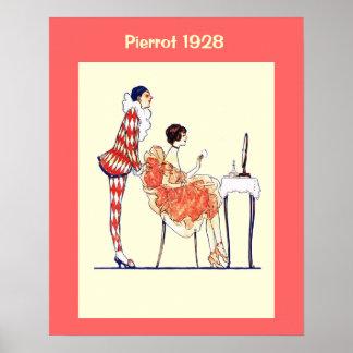 Historische Mode 1928 Posterdruck