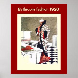 Historische Mode 1928 Plakat