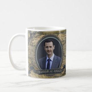 Historische Tasse Bashar AlAssad