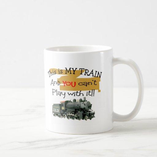 Historische Zug-Geschenke--Unglaublich witzig Rede Kaffee Haferl
