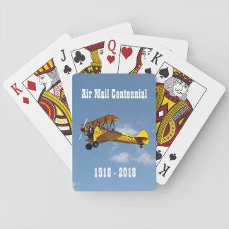 Historischer Luftpost-ServiceCentennial Spielkarten
