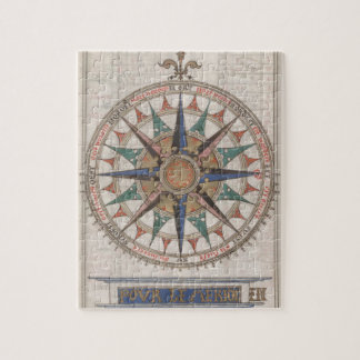 Historischer Seekompaß (1543) Puzzle