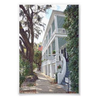 Historisches Beaufort, South Carolina, Gasthaus Fotodruck
