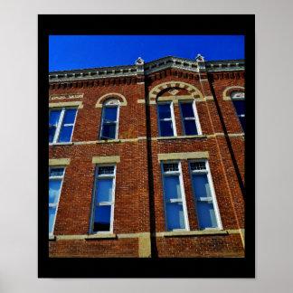 Historisches Gebäude Poster