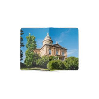 Historisches kastanienbraunes Kalifornien-Gericht Passhülle