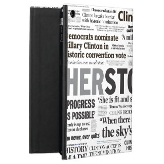 Historisches Schlagzeilen-iPad Air ケース Hillary
