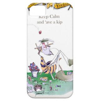 Historisches Yorkshire-Grille 'behalten calm Etui Fürs iPhone 5