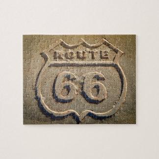 Historisches Zeichen des Weges 66, Arizona Puzzle