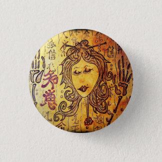 Hitomi Miniknopf Runder Button 3,2 Cm