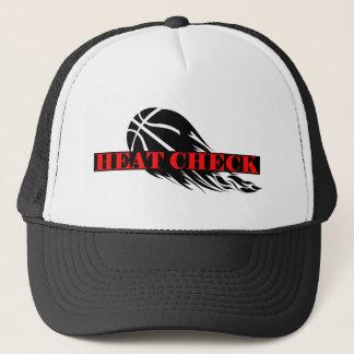 Hitze-Karo-Basketball-Kappe Truckerkappe