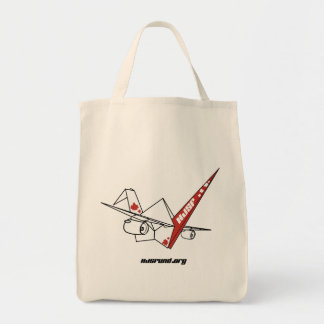 HJSF Logo-Lebensmittelgeschäft-Taschen-Tasche Tragetasche