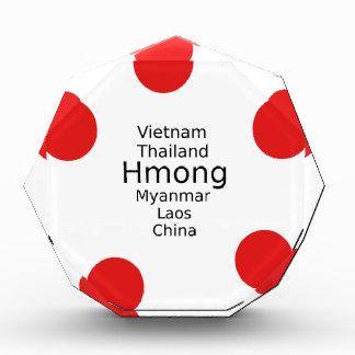 Hmong Sprachentwurf (schließt Länder) mit ein Auszeichnung