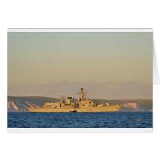 HMS Monmouth Karte