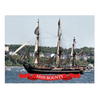 HMS-Prämien-hohes Schiff Postkarte