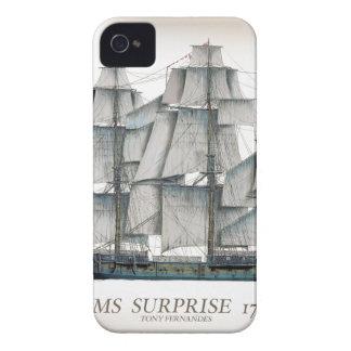 HMS-Überraschung 1796 gealtert iPhone 4 Case-Mate Hülle