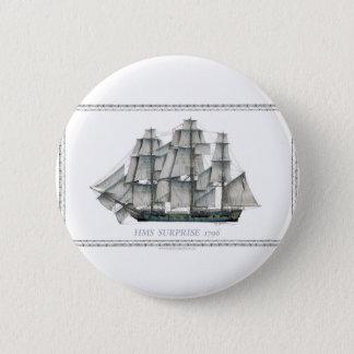 HMS-Überraschung 1796 Runder Button 5,1 Cm