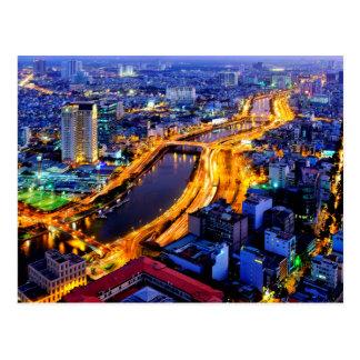 Ho Chi Minh Stadt Postkarte