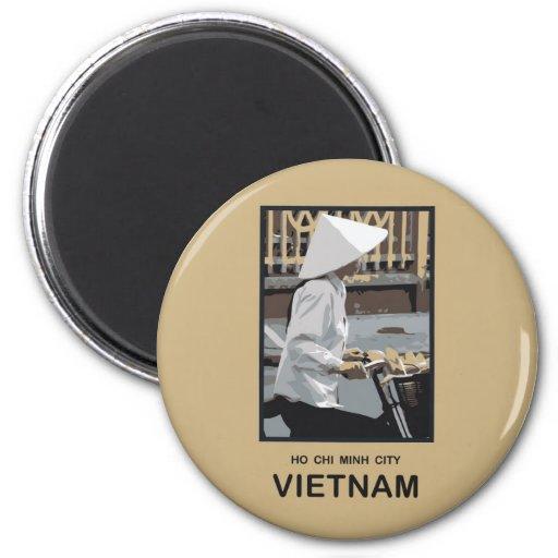 Ho Chi Minh Stadt Vietnam Kühlschrankmagnet