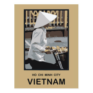 Ho Chi Minh Stadt Vietnam Postkarten