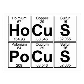 Ho-Cu-s PO-Cu-s (Hokuspokus) - voll Postkarte