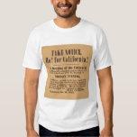 Ho! für Kalifornien! 1849 (1759A) Shirt