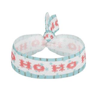Ho Ho Ho festliche Rot-u. Aqua-Zusätze Haarschleifen
