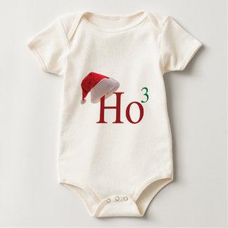 Ho Ho Ho frohe Weihnachten 3 zum 3. Power Baby Strampler