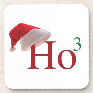Ho Ho Ho frohe Weihnachten Getränk Untersetzer