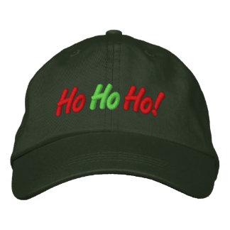 Ho, Ho, Ho! Gestickte Kappe Bestickte Baseballcaps