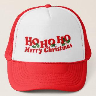 Ho Ho Ho Hut der frohen Weihnachten Truckerkappe