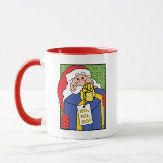"""HO, HO, HO!"" Klassische weißer Kaffee-Tasse Tasse"