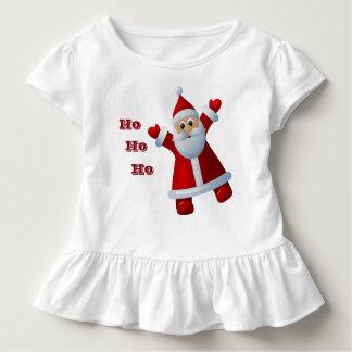 HO! HO! HO! Niedliche frohe Weihnachten Kleinkind T-shirt