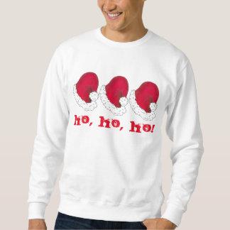 Ho Ho Ho rotes Sweatshirt