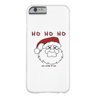 HO HO HO und eine Flasche Rum! Barely There iPhone 6 Hülle