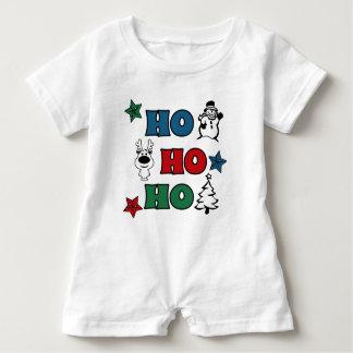 Ho-Ho-Ho Weihnachtsentwurf Baby Strampler