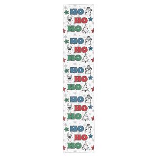 Ho-Ho-Ho Weihnachtsentwurf Kurzer Tischläufer