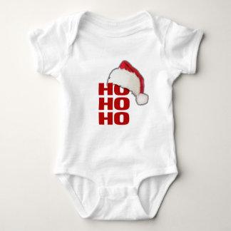 Ho Ho Ho Weihnachtsmannmütze Baby Strampler