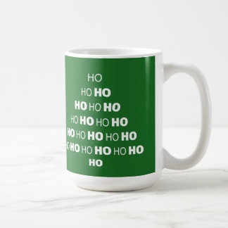 HO HO HO WeihnachtsTasse Kaffeetasse